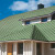 крыша из битумной черепици